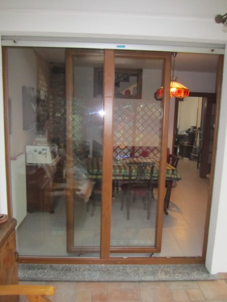 Serramenti PVC Lurago Marinone vicino Como - porte finestre in PVC con anta traslante