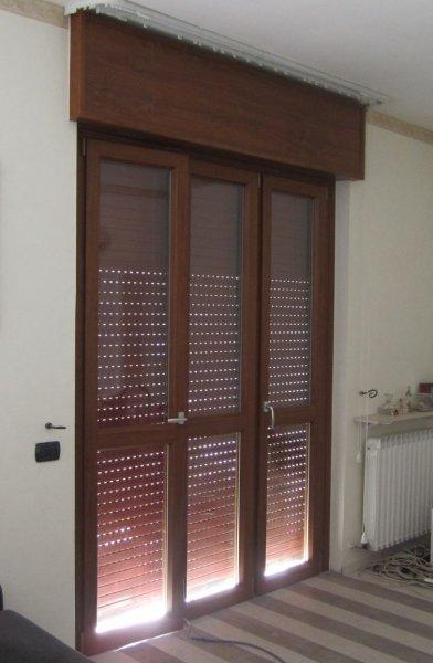 Serramento pvc Castellanza - finestre e porte finestre dotate falsa manovra per una durata superiore.