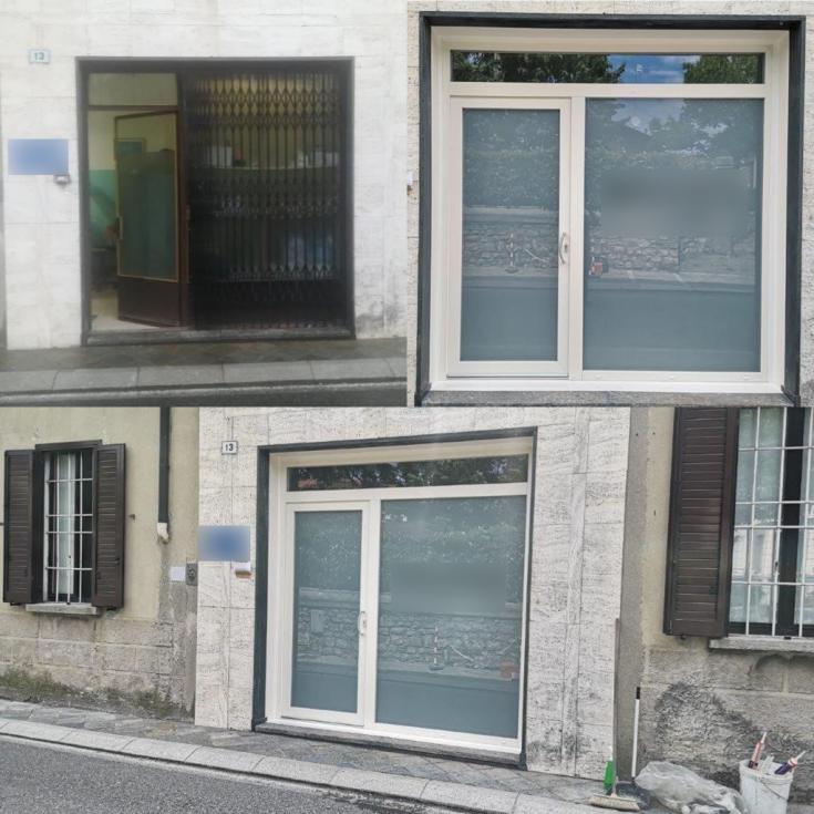 vetrina pvc_negozio-Cocquio Trevisago