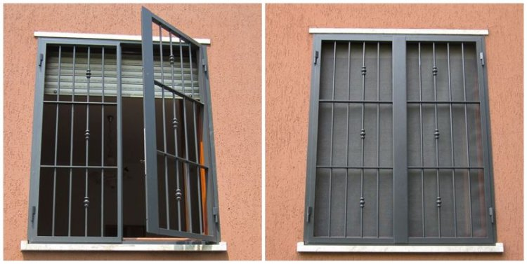Preventivi e prezzi per installazione grate apribili - Prezzi grate di sicurezza per finestre ...